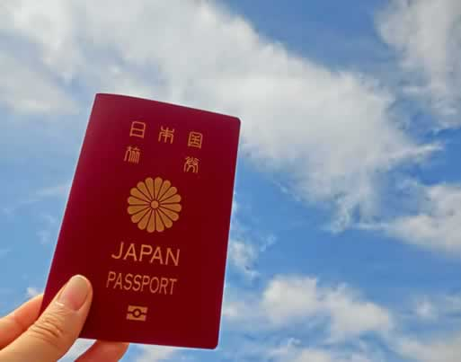passport and suitcase